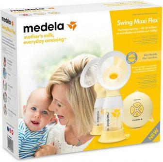 Medela Swing Maxi Flex Elektrisk Bröstpump. Bästa bröstpumpen