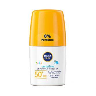 Nivea Sun Kids Sensitive Protect & Play Roll-on Spf 50. Bästa solkrämen för barn